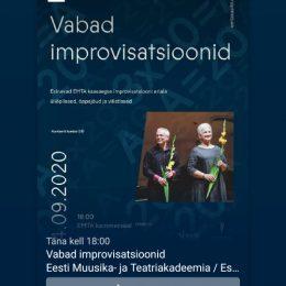 Vabad improvisatsioonid 4. septembril